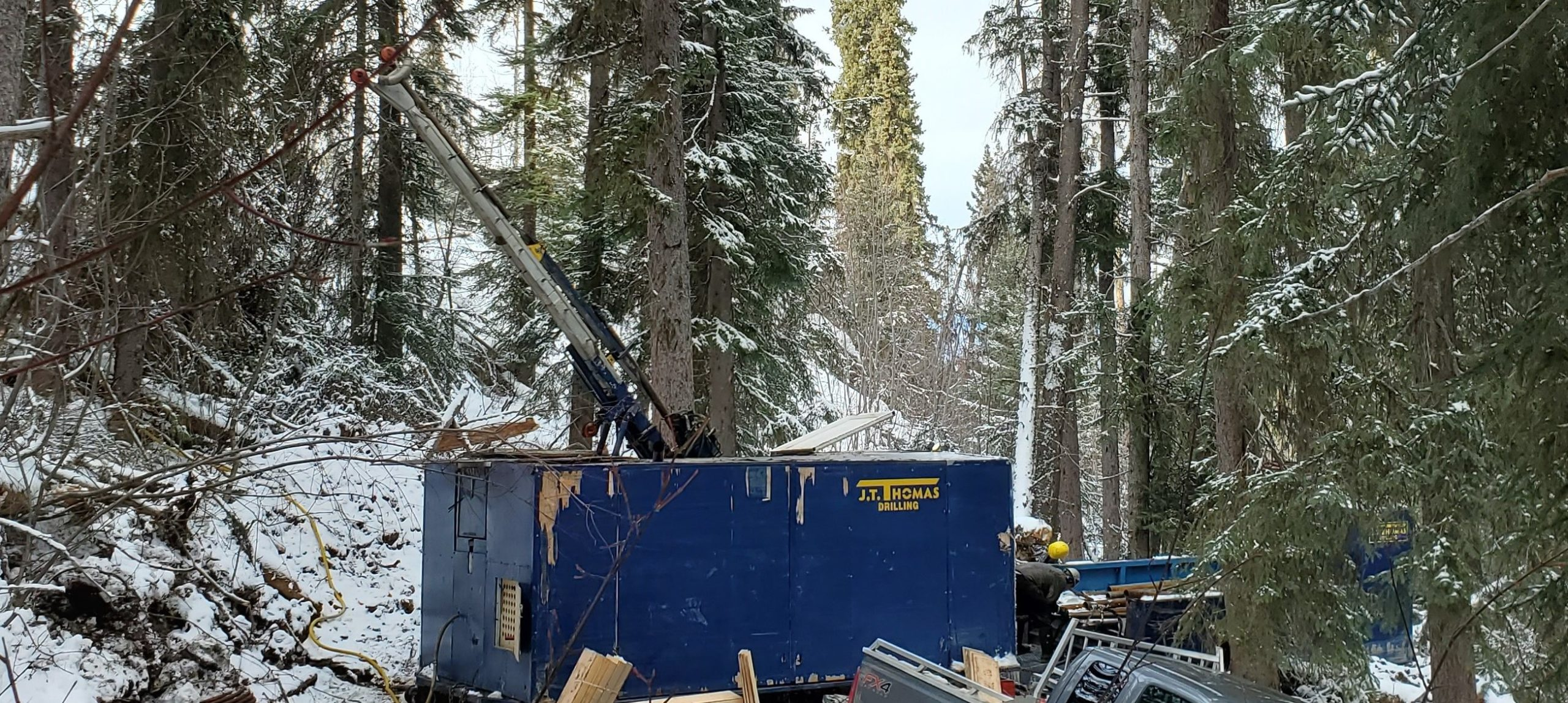 San Marco Begins Drilling At Buck Property, Central B.C.